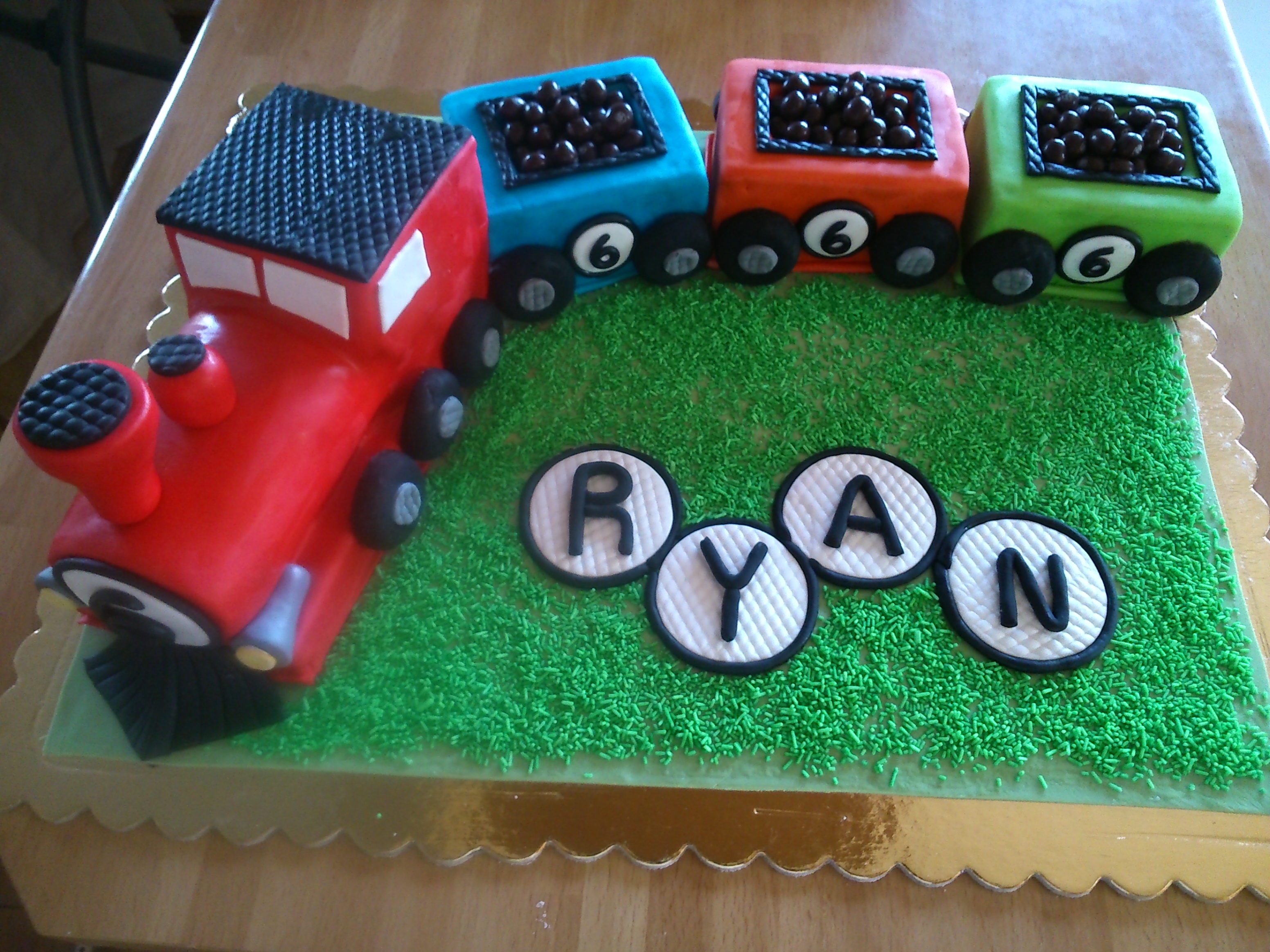 Choo Choo Train Cake The Everyday Artisan